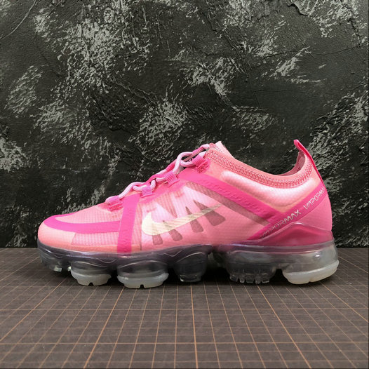 Cheap Womens Nike Air VaporMax 2019 AR6632-600 Purple Red Mtllc Silver Pink Violet Argmet Rose