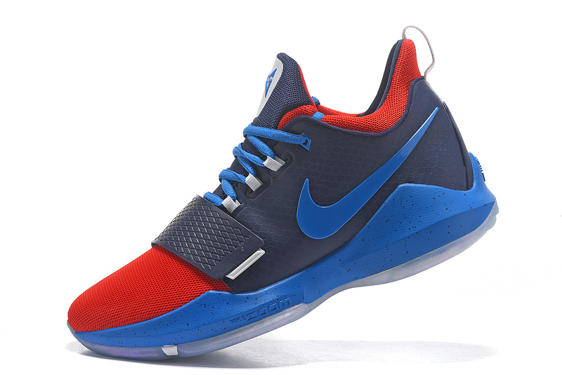 2017 Nike Zoom PG 1 Navy Blue Red For Sale