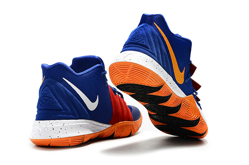 2019 Cheap Nike Kyrie Irving 5 V Team Orange Blue White Yellow