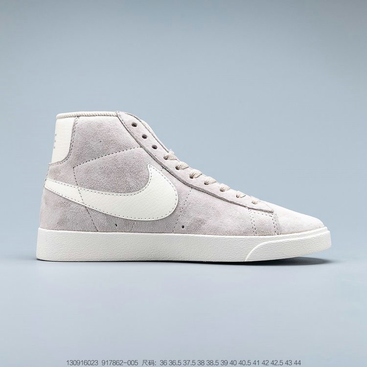 2019 Where To Buy Cheap Nike Blazer Mid Vintage Suede Sneakers Desert Sand Sail 917862-005