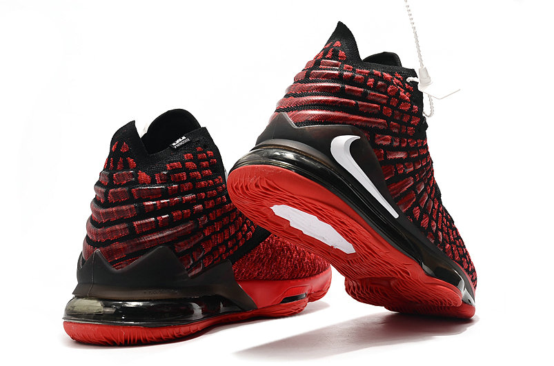2019 Where To Buy Cheap Nike Lebron 17 University Red White Black