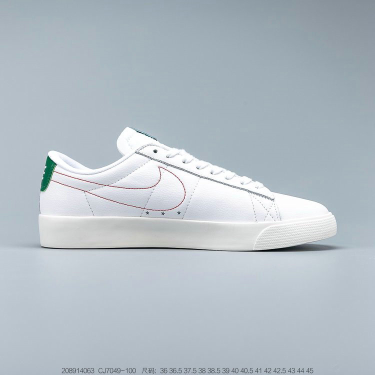 2019 Where To Buy Cheap Stranger Things x Nike Blazer Hawkins High White Green Two-Tone Blanc Vert CJ7049-100