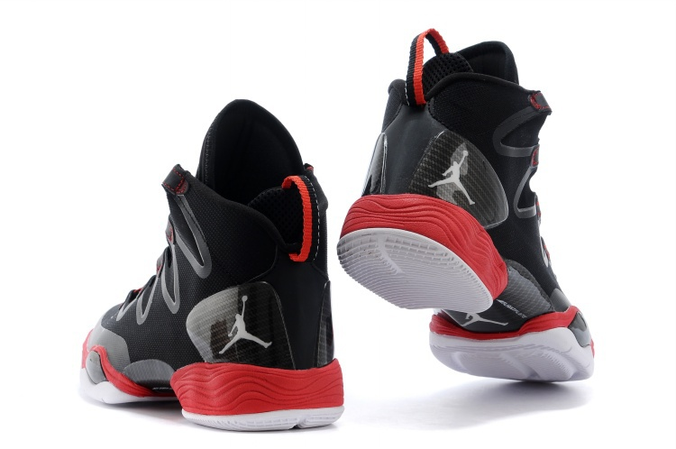 Air Jordans XX8 SE Black White-Anthracite-Gym Red For Sale