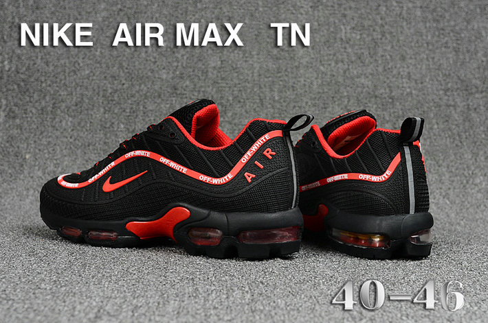 Cheap Nike Air Maxs TN OG Black Red 2019 New Arrival