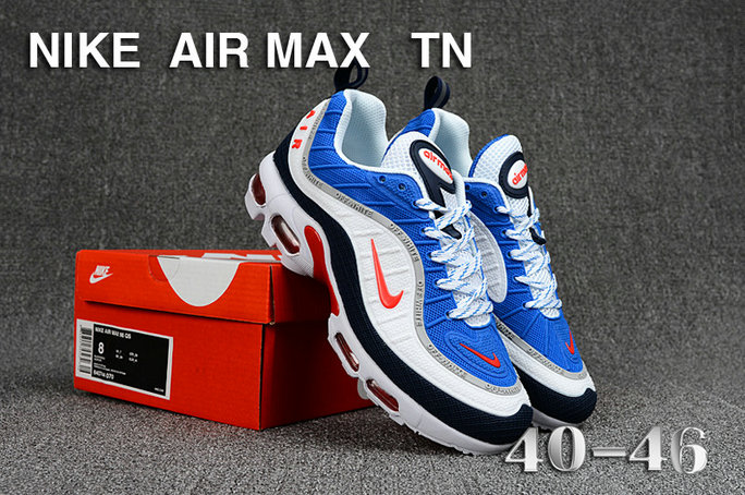 Cheap Nike Air Maxs TN OG Blue Red White 2019 New Arrival