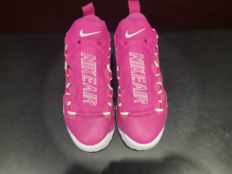 Cheap Nike Air More Money QS AJ7383 600 Pink White