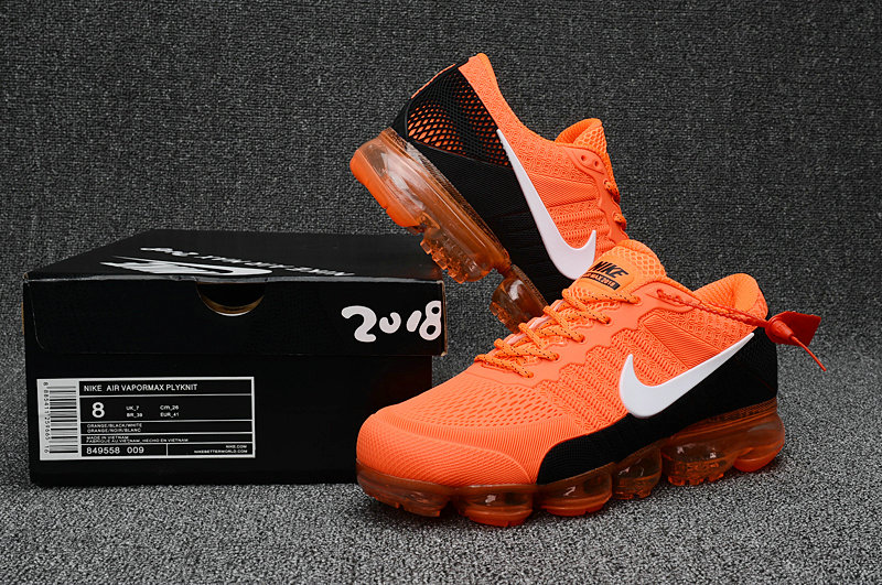 Cheap Nike Sportwear Air Max 2018 Mens Orange White Black