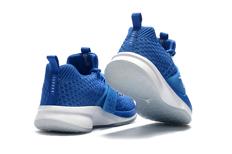 Jordan Trainer 2 Flyknit Royal Blue White For Sale