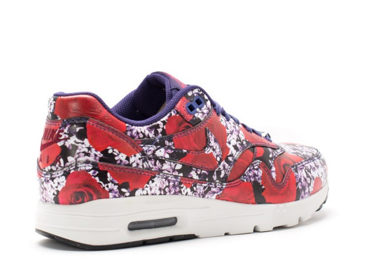Cheap Nike Wmns Air Max 1 Ultra Lotc Qs London 747105-500 Ink Ink-Summit White-Team Red